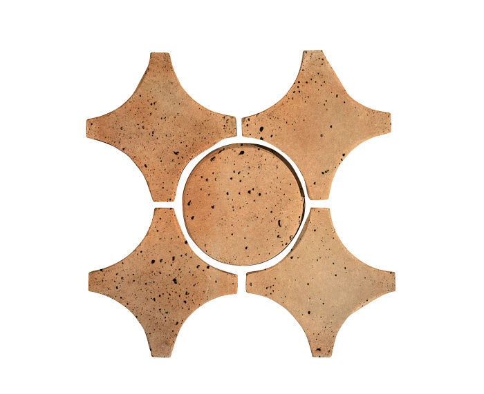 Artillo Arabesque 9A Cafe Olay Travertine