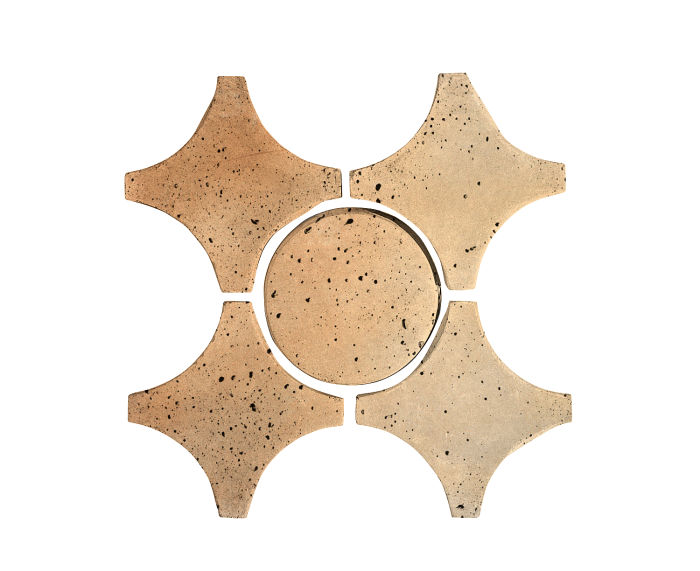 Artillo Arabesque 9A Hacienda Flash Travertine