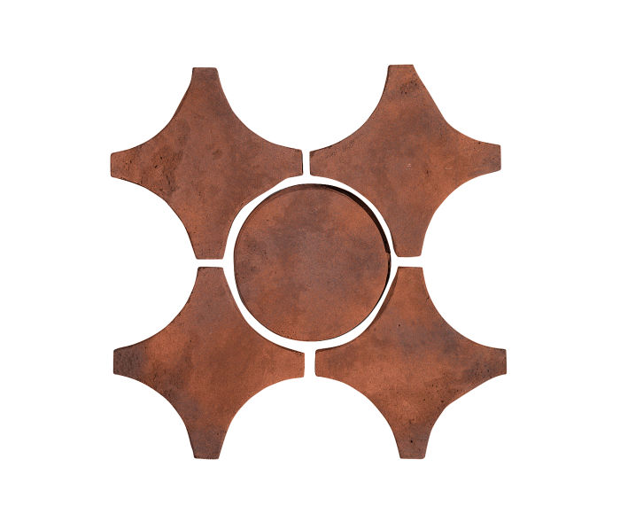 Artillo Arabesque 9A Red Flash Limestone