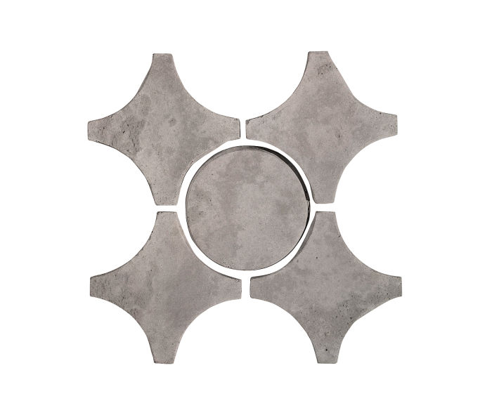 Artillo Arabesque 9A Sidewalk Gray Limestone