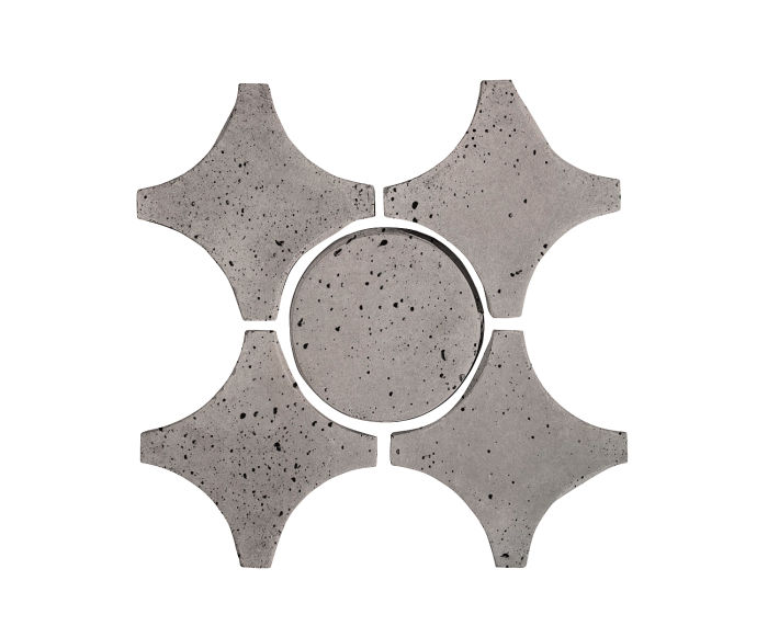 Artillo Arabesque 9A Sidewalk Gray Travertine