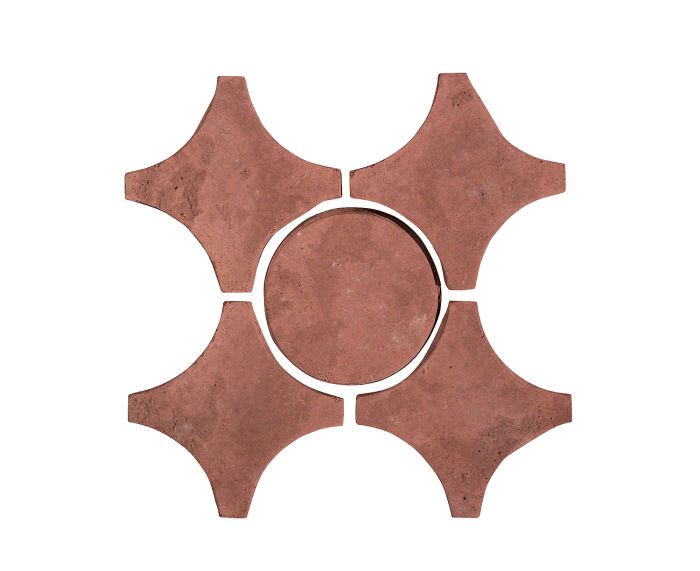 Artillo Arabesque 9A Spanish Inn Red Limestone