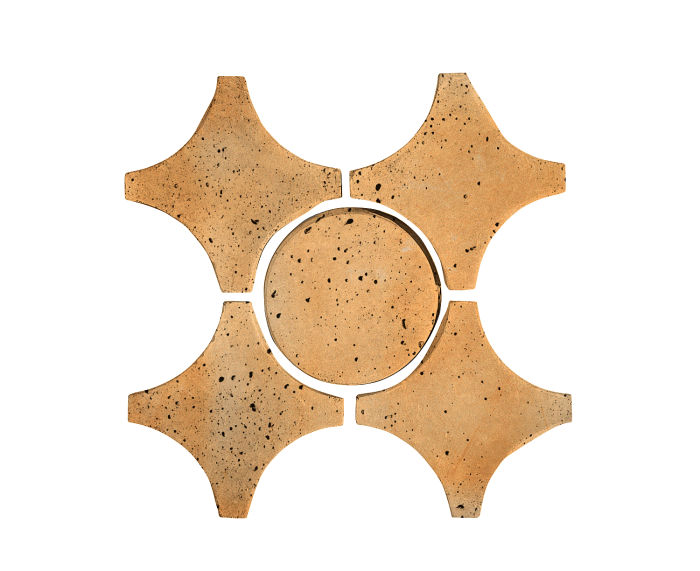 Artillo Arabesque 9A Sonora Sunset Travertine