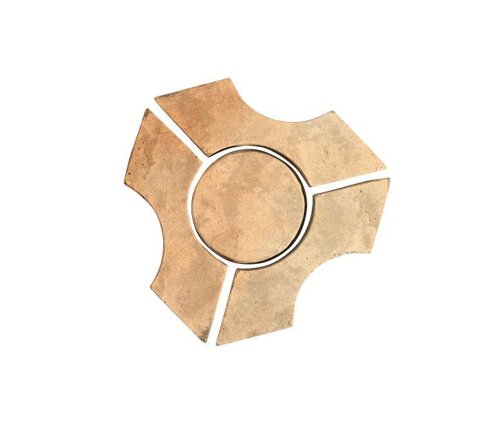 Artillo Arabesque 9B Hacienda Flash Limestone