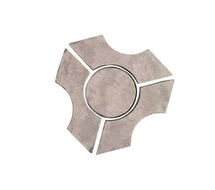 Artillo Arabesque 9B Natural Gray Limestone