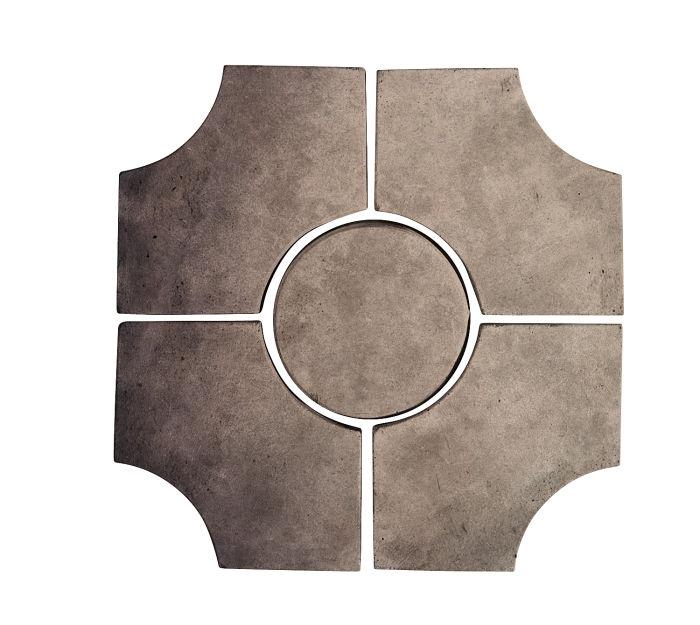 Artillo Arabesque 9C Antik Gray Limestone