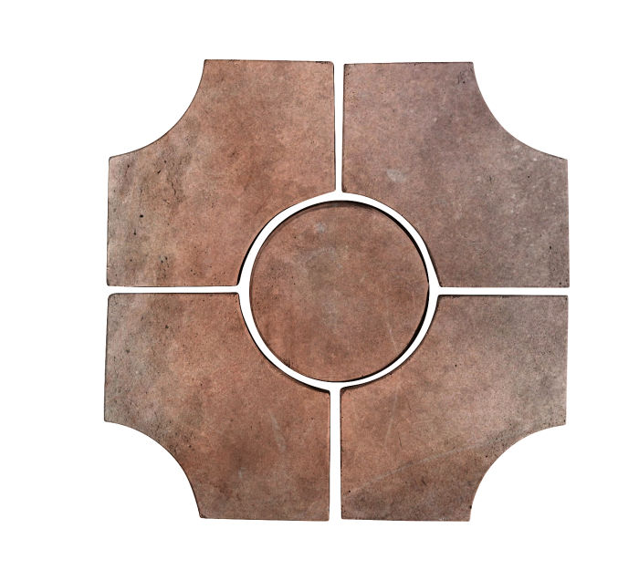 Artillo Arabesque 9C Beachwood Flash Limestone