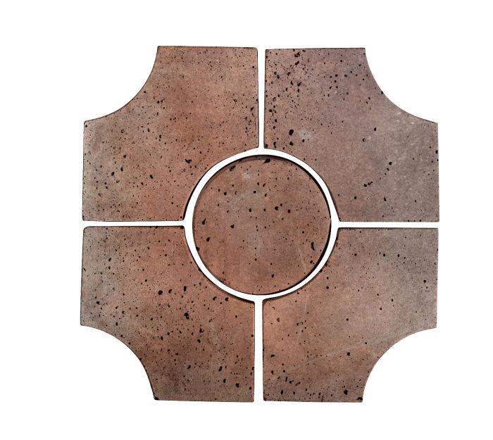 Artillo Arabesque 9C Beachwood Flash Travertine