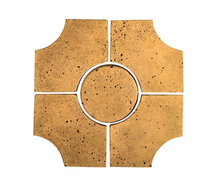 Artillo Arabesque 9C Buff Travertine