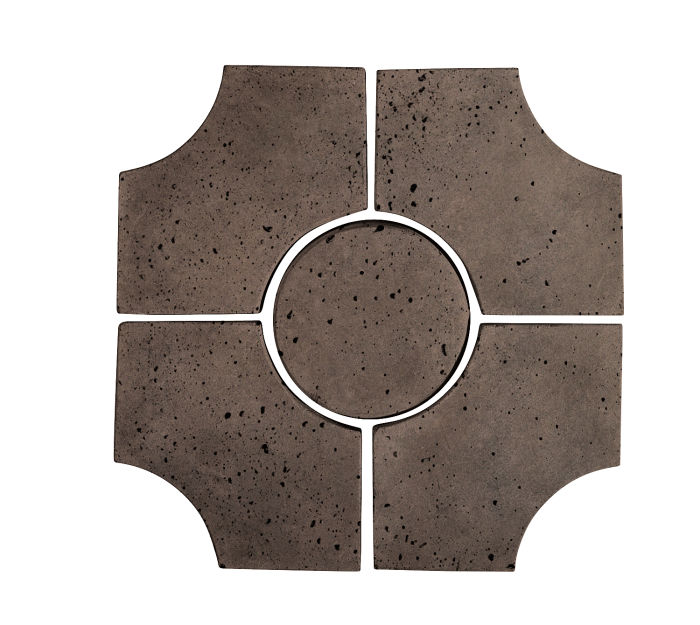 Artillo Arabesque 9C Charley Brown Travertine