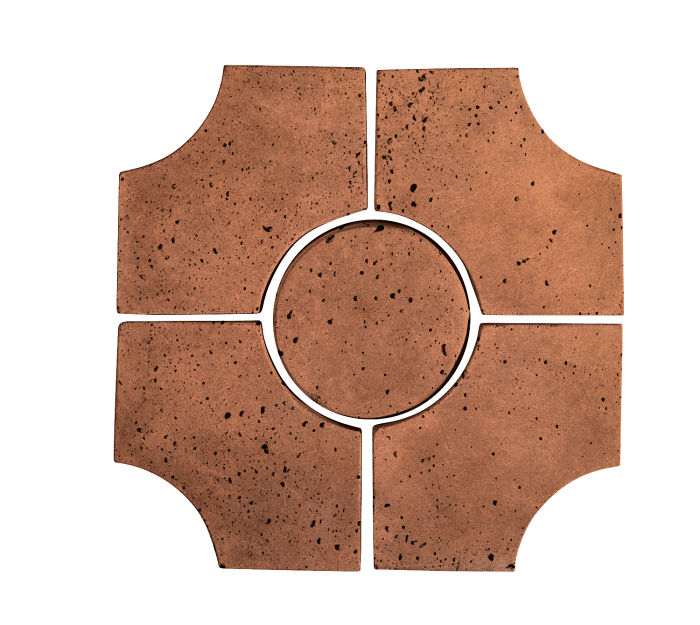 Artillo Arabesque 9C Cotto Gold Travertine
