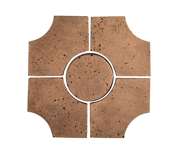 Artillo Arabesque 9C Flagstone Travertine