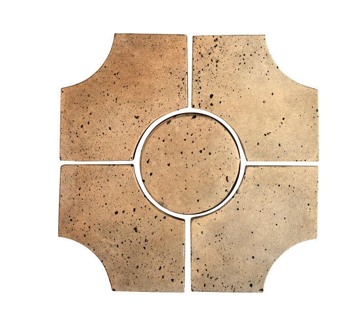 Artillo Arabesque 9C Hacienda Flash Travertine