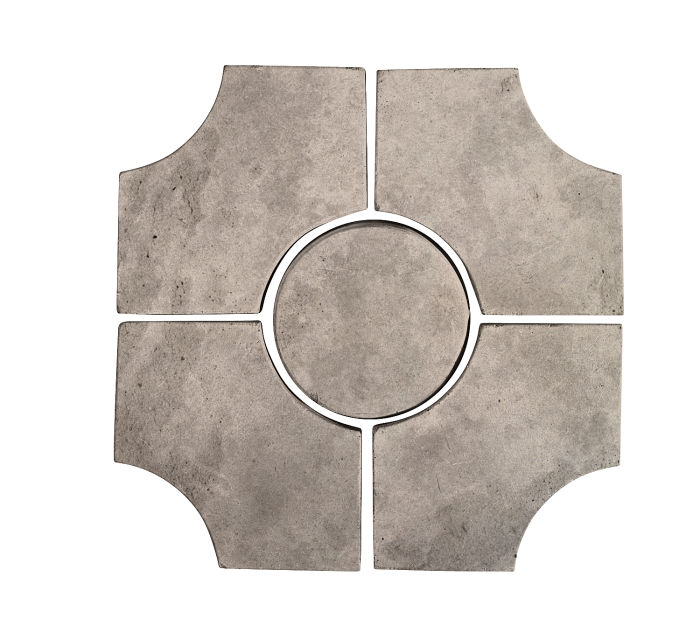 Artillo Arabesque 9C Natural Gray Limestone