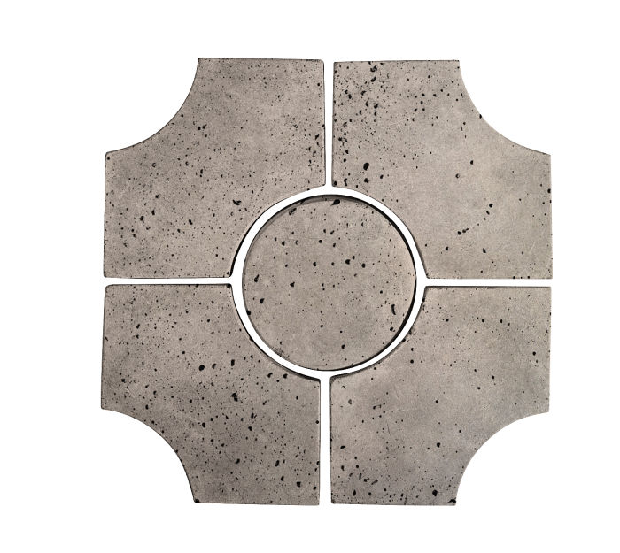 Artillo Arabesque 9C Natural Gray Travertine