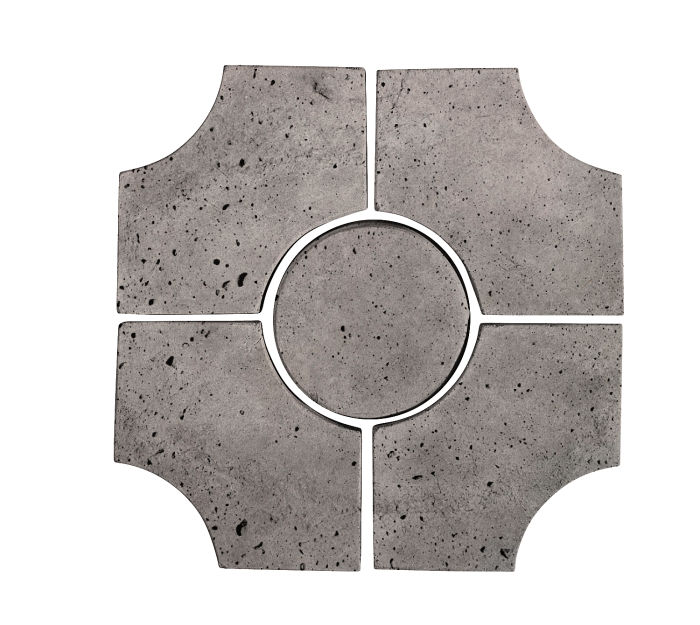 Artillo Arabesque 9C Sidewalk Gray Luna