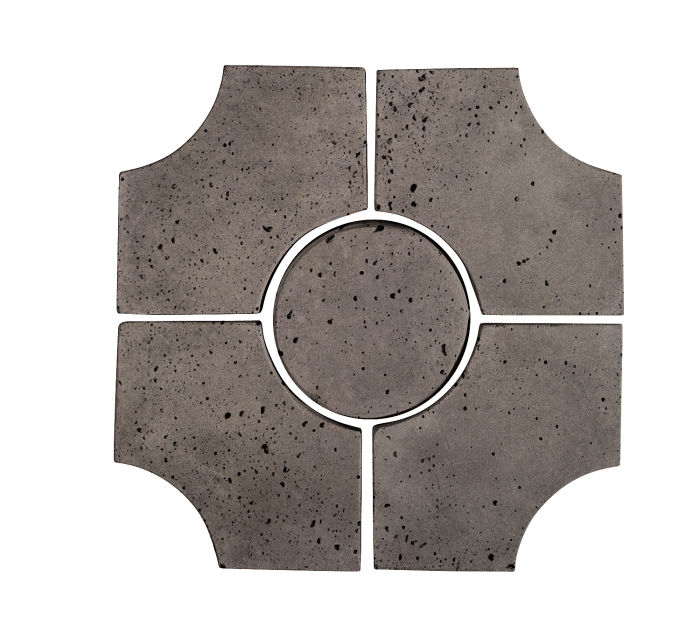 Artillo Arabesque 9C Smoke Travertine