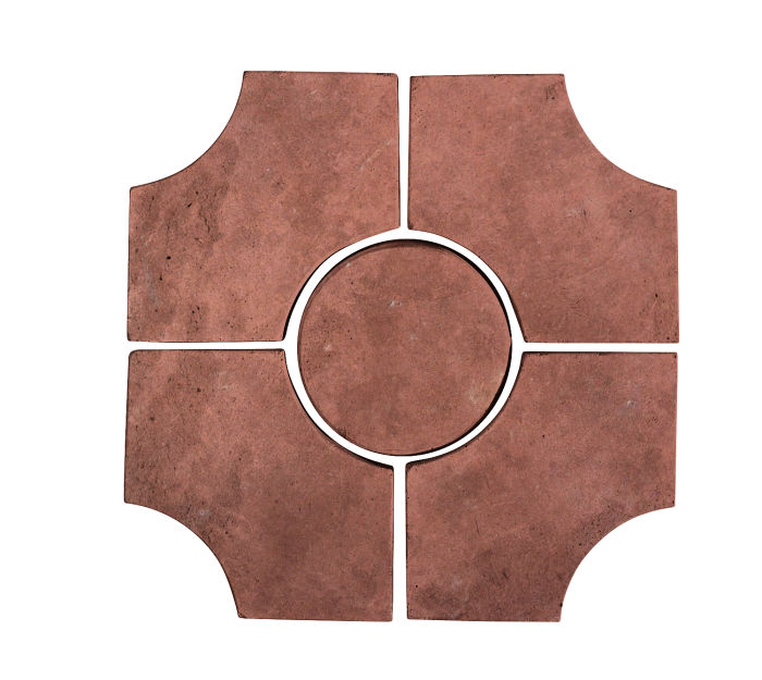 Artillo Arabesque 9C Spanish Inn Red Limestone