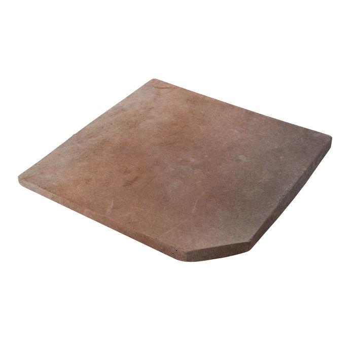 12x12 Artillo Clipped Corner Beachwood Flash Limestone