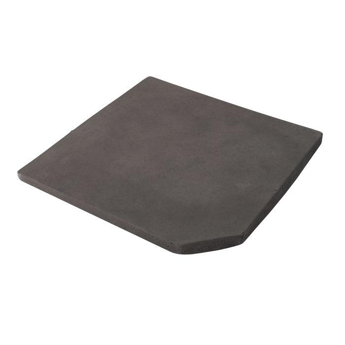 12x12 Artillo Clipped Corner Charcoal