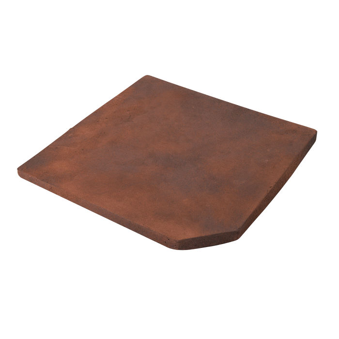 12x12 Artillo Clipped Corner Red Flash Limestone