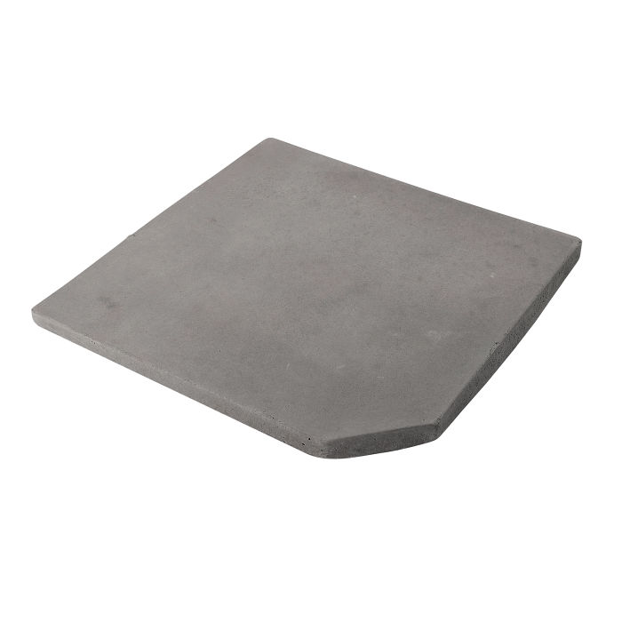 12x12 Artillo Clipped Corner Sidewalk Gray