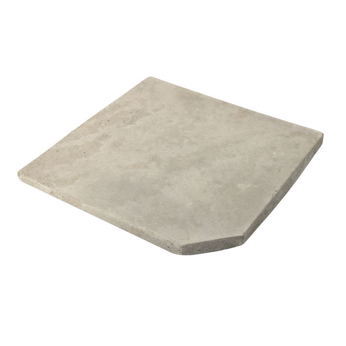 8x8 Artillo Clipped Corner Rice Limestone
