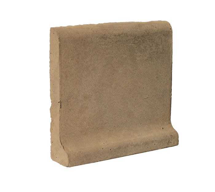 6x6 Cove Base Bullnose Top Caqui Limestone