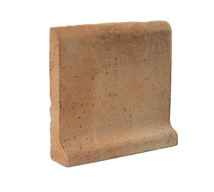 6x6 Cove Base Bullnose Top Cafe Olay Travertine