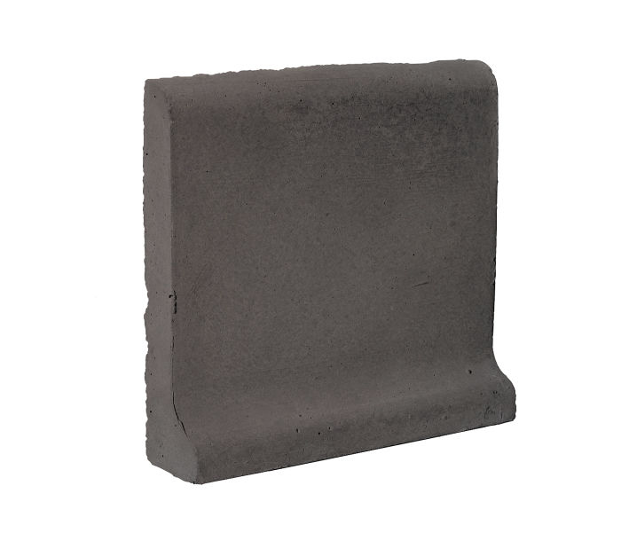 6x6 Cove Base Bullnose Top Charcoal