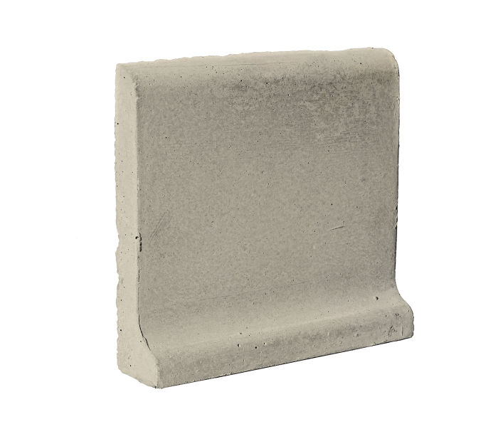 6x6 Cove Base Bullnose Top Early Gray