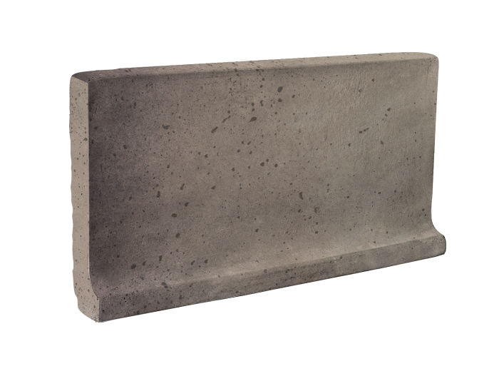 6x12 Cove Base Flat Top Antik Gray Travertine