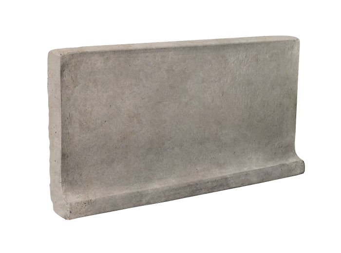 6x12 Cove Base Flat Top Natural Gray Limestone