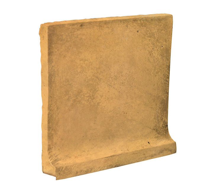 8x8 Cove Base Flat Top Buff Limestone
