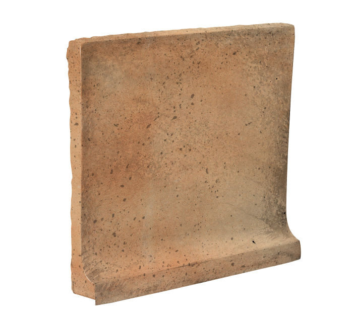 8x8 Cove Base Flat Top Cafe Olay Travertine