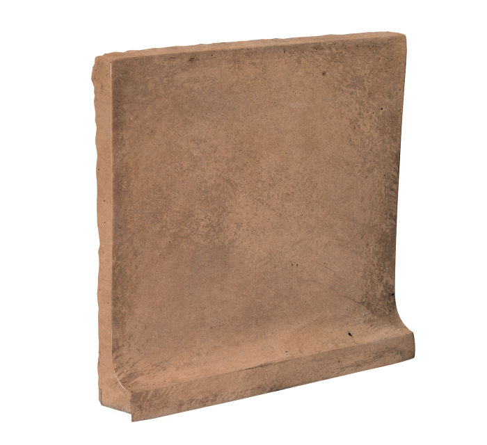 8x8 Cove Base Flat Top Flagstone Limestone