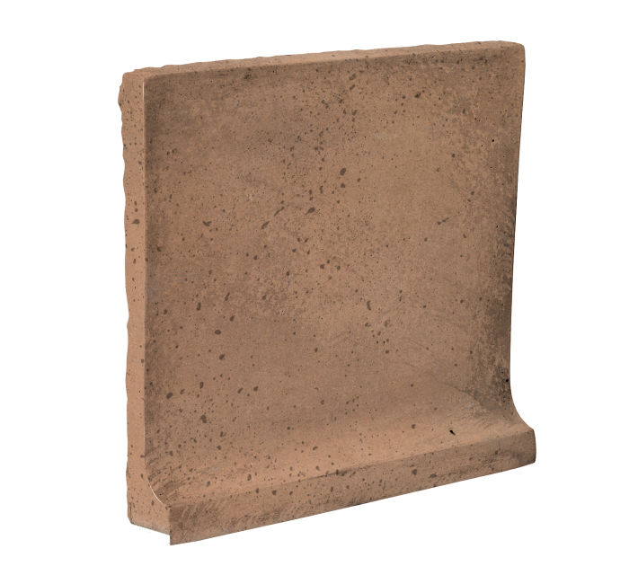 8x8 Cove Base Flat Top Flagstone Travertine