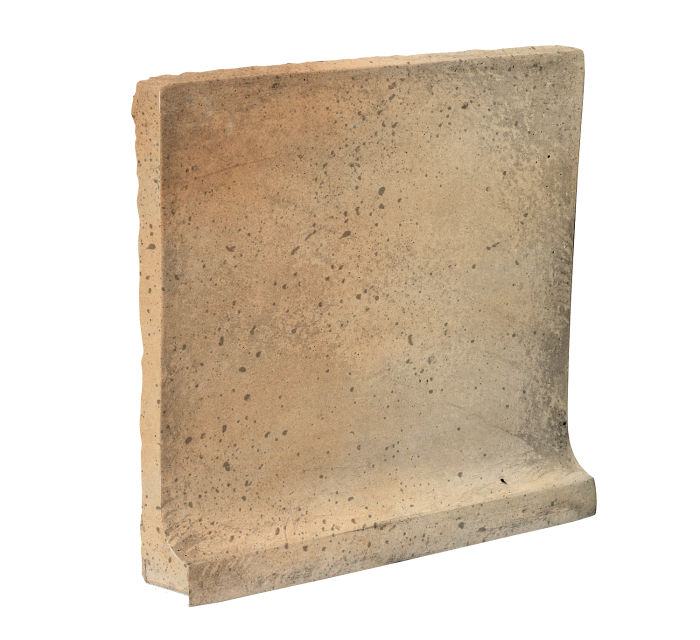 8x8 Cove Base Flat Top Hacienda Flash Travertine