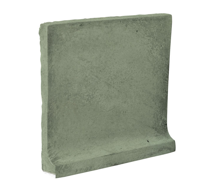 8x8 Cove Base Flat Top Ocean Green Light