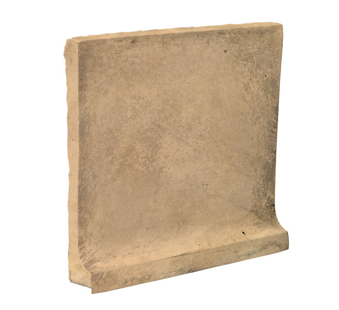 8x8 Cove Base Flat Top Old California Limestone