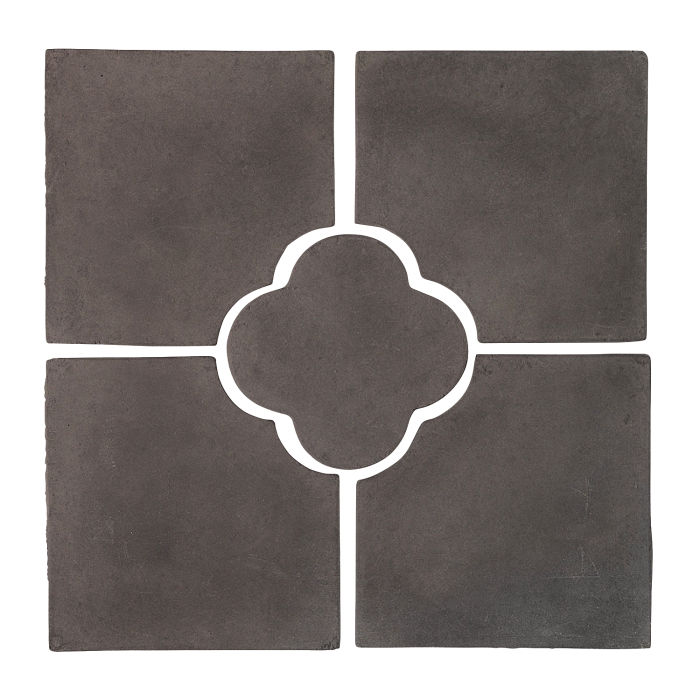 17x17 Daisy Deco Set (5 PCs) Charcoal