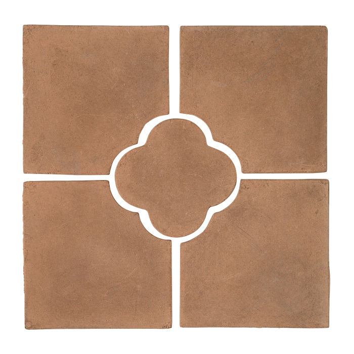 17x17 Daisy Deco Set (5 PCs) Flagstone