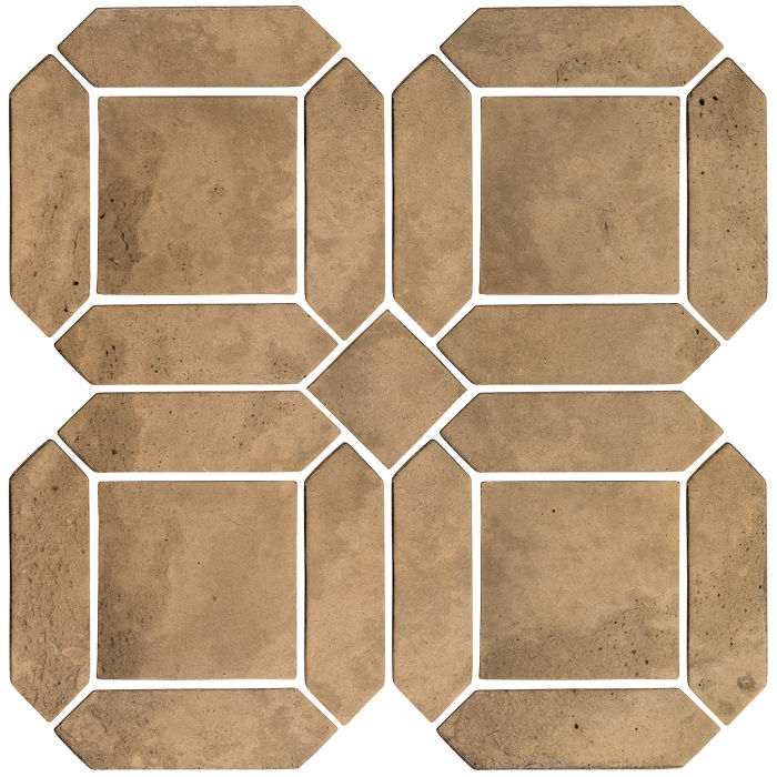3x11 Artillo Double Picket Set Caqui Limestone