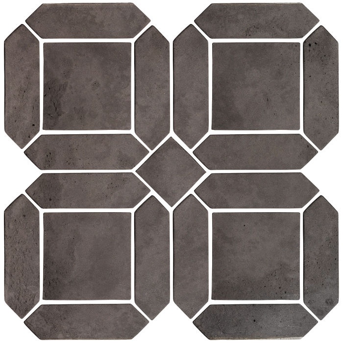 3x11 Artillo Double Picket Set Charcoal Limestone