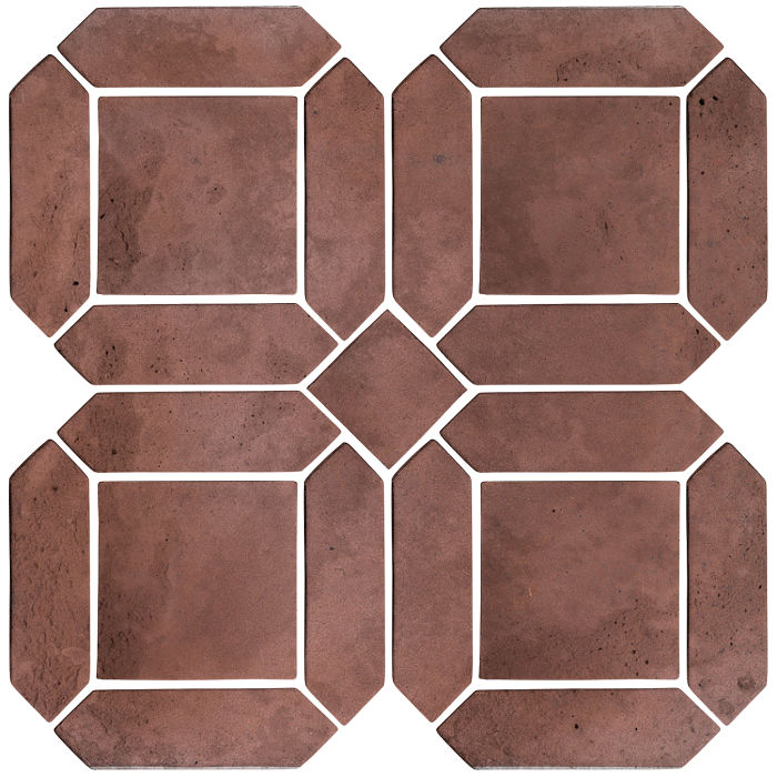 3x11 Artillo Double Picket Set City Hall Red Limestone