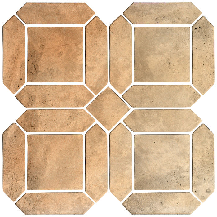 3x11 Artillo Double Picket Set Hacienda Flash Limestone