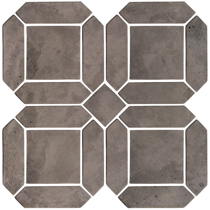 3x11 Artillo Double Picket Set Smoke Limestone