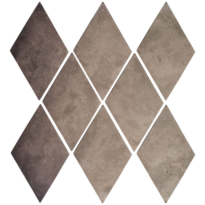 3x5 Mini Diamond Antik Gray Limestone