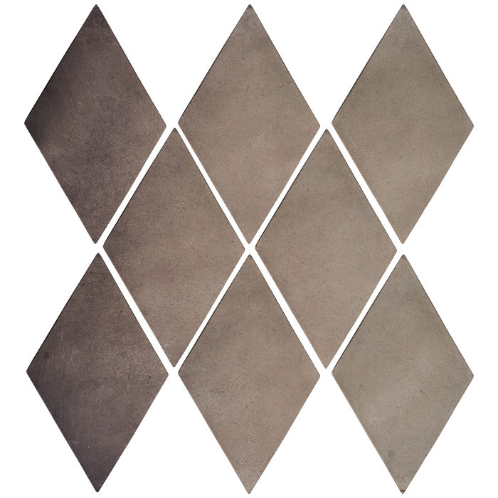 3x5 Mini Diamond Antik Gray