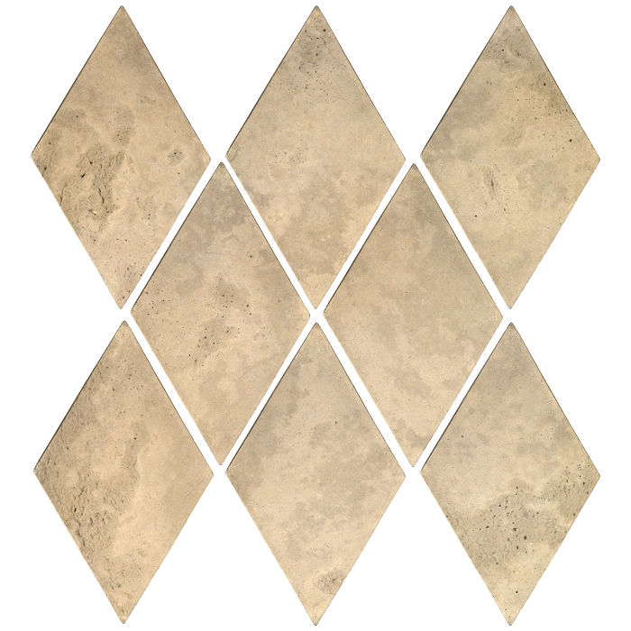 3x5 Mini Diamond Bone Limestone